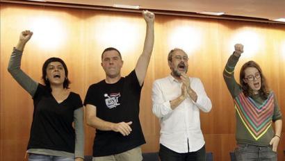CUPen kartak mahai gainean: asanblada konstituziogilea eta neurri sozialak
