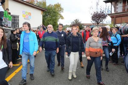 20 urteren ostean Nafarroako lehendakaria Nafarroa Oinezen