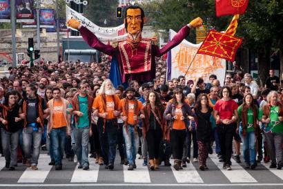 Internazionalismoa lantzeagatik 6 urteko kartzela arriskua?