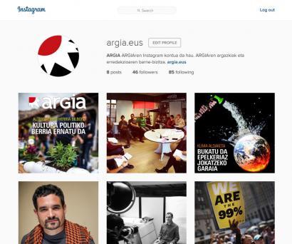 Jarraitu ARGIA Instagramen ere
