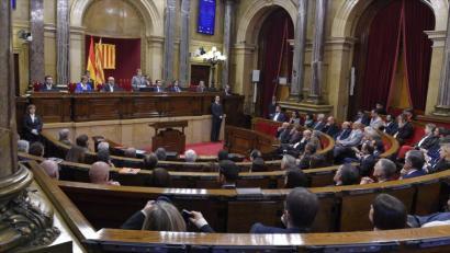 Espainiak indar juridikoarekin erantzungo dio Kataluniako �deskonexioa�ri
