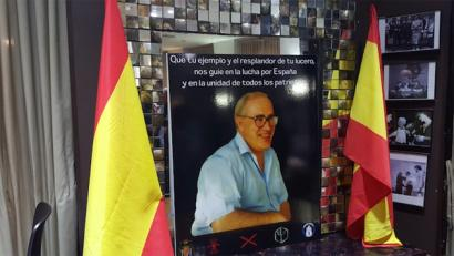 Zazpi euskal herritar hil zituen ultraeskuindarra omendu dute Madrilen