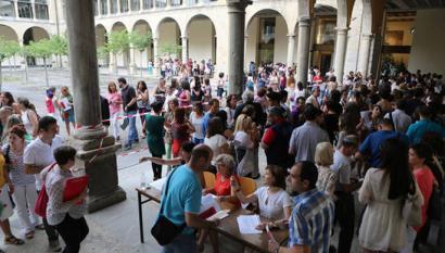 Nafarroako Gobernuaren hezkuntza deialdiaren aurka bozkatu dute Ahal Duguk eta Ezkerrak