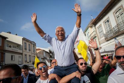 Portugalgo ezkerreko alderdiek agintetik bota dituzte kontserbadoreak