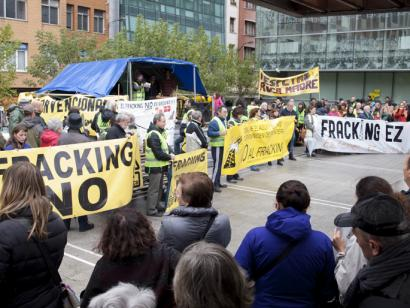 Benetan frackingari uko egin dio Eusko Jaurlaritzak?