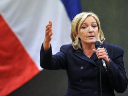 FN garaile: Marine Le Pen Eliseorako bidean