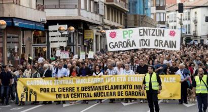 Hauteskunde bezperan Garo�aren aurka egiteko ziren manifestazioa debekatu dute