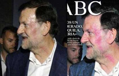 Nola baliatu dute hedabide espainiarrek Rajoyren aurkako erasoa?