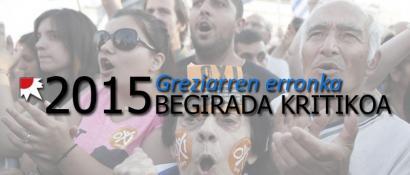 'OXI'-2015: Europako oligarkiak Grezia umiliatu eta mixeriara kondenatu duen urtea