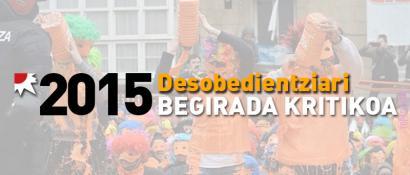 Desobedientzia sakonago errotu da Euskal Herrian 2015ean