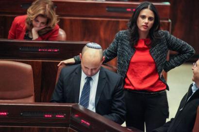 Ezkerreko gobernuz kanpoko erakundeak jomugan jarri ditu Israelek