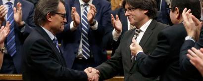 Akordioa JxS� eta CUPen artean: Carles Puigdemont president
