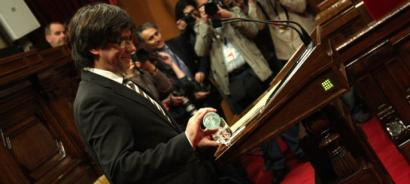 Puigdemonten gobernuaren betebeharrak independentziara bidean