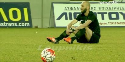 Futbolari greziarrek errefuxiatuen heriotzengatik partida bat geratu dute salaketa gisa