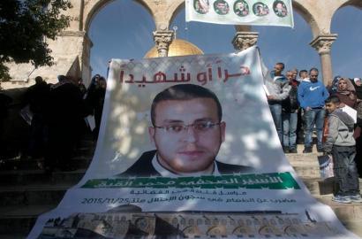 70 egun daramatza gose greban preso dagoen kazetari palestinarrak