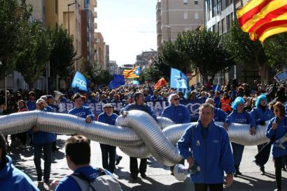 Ebroren emaria, estatu afera Kataluniako independentistentzat