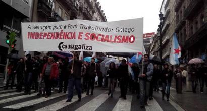 Causa Galiza: �Independentzia legezko metodoen bidez lortu nahi dugu�