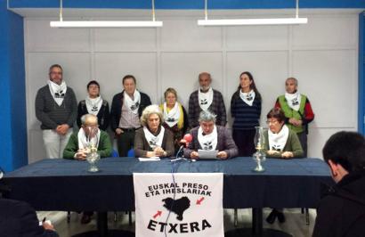 Auto istripua izan dute asteburuan Iñaki Bilbao presoaren senideek