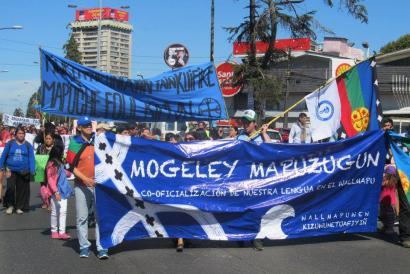 Maputxeraren ofizializazioa eskatu dute 2.000 lagunek Temucon
