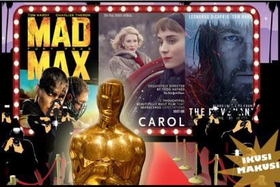 Oscar sariak 2016: apustuak martxan!