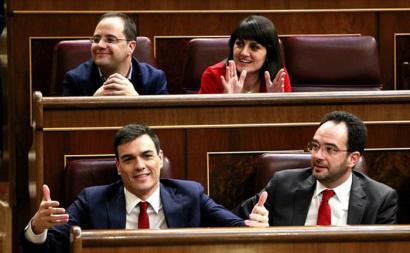 Pedro Sanchezek ez du presidente izateko babesa lortu
