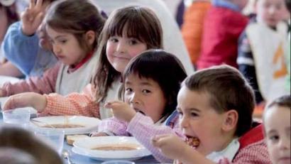 Eskola jantokietan bertako produktuen kontsumoa exijitzeko kanpaina abian