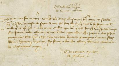Erdi Aroan idatzitako euskarazko testurik luzeena ikusgai dago Nafarroako artxibategian