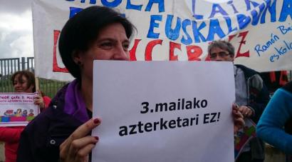 LOMCEk aurreikusitako azterketak bertan behera utzi ditu Espainiako Kongresuak
