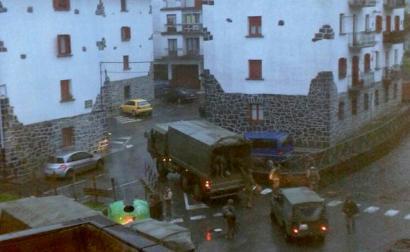 Leitzako Udalak Espainiako armadak herria