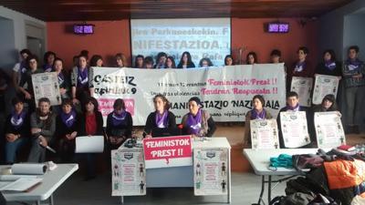 Natalie Van Put gogoan egingo da Gasteizen indarkeriaren kontrako manifestazioa