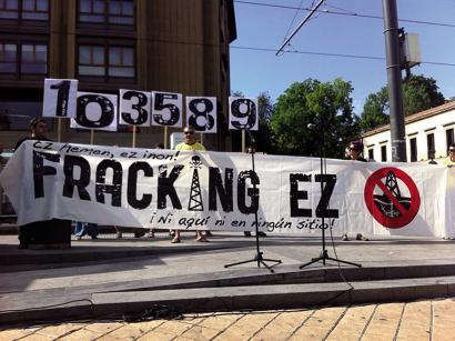 EAEko frackingaren aurkako legeari helegitea jarriko dio Espainiako Gobernuak