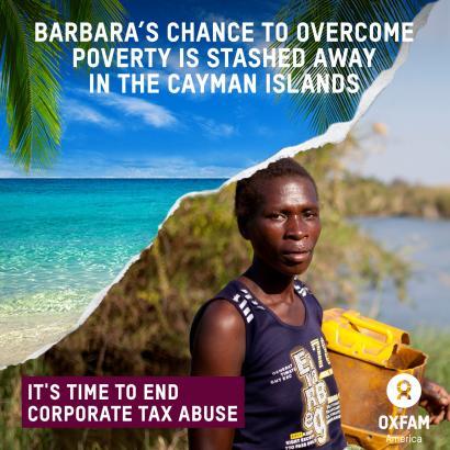 Oxfamek dio AEBko 50 korporazio handienek 1,4 bilioi dolar gorde dituztela paradisu fiskaletan