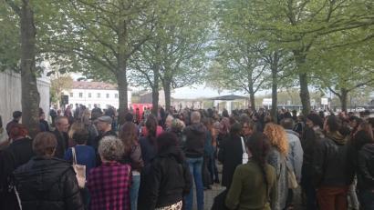 Nuit Debout Baionan: zer entzuten da plazan?