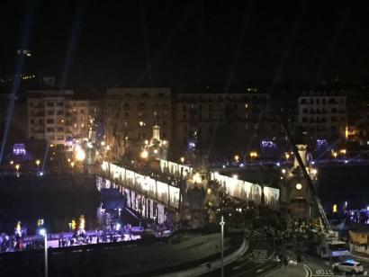 Ia 15.000 euro gastatu ziren Donostia 2016ren inaugurazioko catering-ean