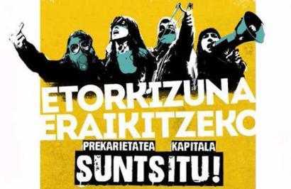 Prekarietatearen aurka, mobilizazioak Ezkerraldean