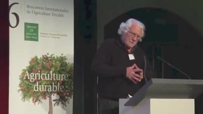 Marcel Bouch� agronomoa Ainhizen:  �Zizareak gehiago produzitzen du traktoreak baino�