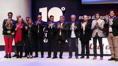 Javier Esparza UPNko presidente, euskararen aurkako diskurtso erasokorrarekin
