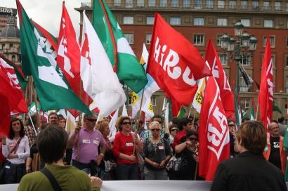 Maiatzaren Lehena: protesta eguna