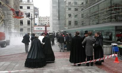 'Aundiya' filmak 1866ko Londres bihurtu du Bilbo