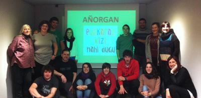 A�orgatarrek ere, astebetez euskaraz bizitzeko konpromisoa hartu dute