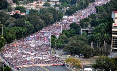 Milioika lagun mundu osoko protestetan maiatzaren 1ean