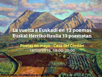 Euskal Herriko itzulia 12 poematan, Gasteizen