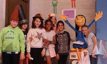 Matilda eta Willy Wonka, liburuetatik Hondarribiko alde zaharrera