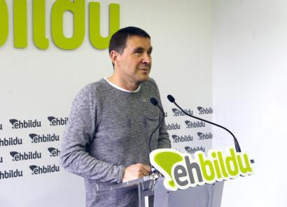 Arnaldo Otegi, EH Bilduren lehendakarigai