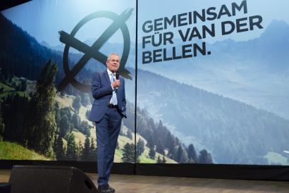 Van der Bellen ekologista Austriako presidente, ozta-ozta ultraeskuinari aurrea hartuta