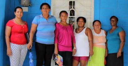 Emakumeen Hiria, Kolonbiako emakume desplazatuek eraikia