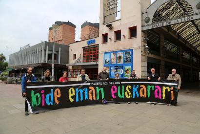 Manifestazioa egingo dute bihar Iruñean, euskaraz bizi nahia aldarrikatzeko