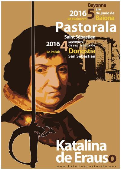 Katalina Erauso pastorala: libre izateko borrokatu zen emakumearen bizitza