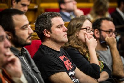 Puigdemontek hautsitzat eman du CUPekin duen egonkortasun hitzarmena
