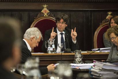 Konfiantza mozioa eta aldebakarreko erreferenduma, aktore berriak Katalunian